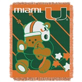 "Miami ""Fullback"" Baby Woven Jacquard Throw"