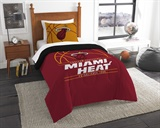 "Miami Heat NBA ""Reverse Slam"" Twin Comforter"