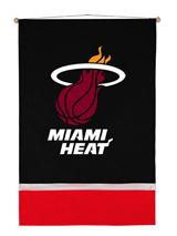 Miami Heat Sidelines Wallhanging