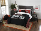 "Miami Marlins MLB ""Grand Slam"" FullQueen Comforter Set"