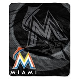 "Miami Marlins MLB ""Retro"" Raschel Throw"