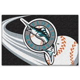 Miami Marlins MLB Tufted Rug