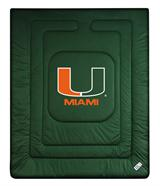 Miami Hurricanes Locker Room Comforter
