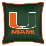 Miami Hurricanes Sidelines Decorative Pillow