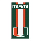 "Miami ""Zone Read"" Beach Towel"