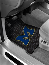 Michigan Car Floor Mat Set