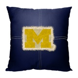 "Michigan ""Letterman"" Pillow"