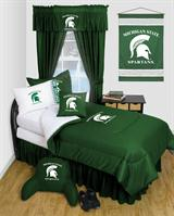 Michigan St Spartans Locker Room Bed In A Bag