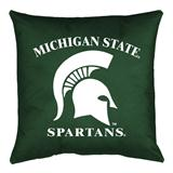 Michigan St Spartans Locker Room Decorative Pillow