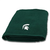Michigan State Applique Bath Towel