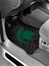 Michigan State Car Floor Mat Set