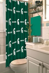 Michigan State Spartans NCAA Shower Curtain