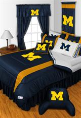 Michigan U Wolverines Sidelines Bed In A Bag
