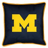 Michigan U Wolverines Sidelines Decorative Pillow