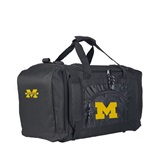 "Michigan  Wolverines NCAA ""Roadblock"" Duffel"