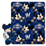 "Milwaukee Brewers MLB ""Mickey"" Hugger with Throw"