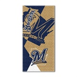 "Milwaukee Brewers MLB ""Puzzle"" Beach Towel"