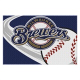 Milwaukee Brewers MLB Tufted Rug