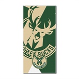 "Milwaukee Bucks NBA ""Puzzle"" Oversized Beach Towel"