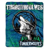 "Minnesota Timberwolves NBA ""Dropdown"" Raschel Throw"