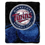 "Minnesota Twins  MLB ""Big Stick"" Sherpa Throw"