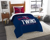"Minnesota Twins MLB ""Grand Slam"" Twin Comforter Set"