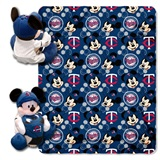 "Minnesota Twins MLB ""Mickey"" Hugger with Throw"
