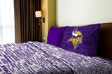 "Minnesota Vikings NFL ""Anthem"" Twin Sheet Set"