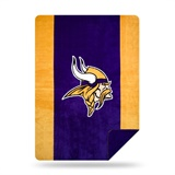 "Minnesota Vikings NFL ""Denali"" Sliver Knit Throw"