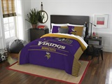 "Minnesota Vikings NFL ""Draft"" Full/Queen Comforter Set"
