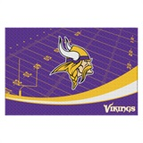"Minnesota Vikings NFL ""Extra Point"" Large Tufted Rug"