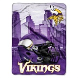 "Minnesota Vikings NFL ""Heritage"" Silk Touch Throw"