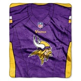 "Minnesota Vikings NFL ""Jersey"" Raschel Throw"
