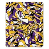 "Minnesota Vikings NFL ""Quicksnap"" Raschel Throw"