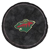 Minnesota Wild NHL Hockey Puck Shaped 3D Pillow