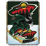 "Minnesota Wild NHL ""Home Ice Advantage"" Woven Tapestry Throw"