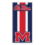 "Mississippi Rebels ""Zone Read"" Beach Towel"