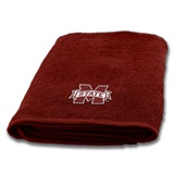Mississippi State Applique Bath Towel