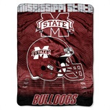 "Mississippi State ""Overtime"" Micro Raschel Throw"