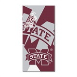 "Mississippi State ""Puzzle"" Oversized Beach Towel"