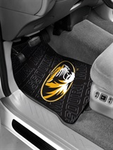 Missouri Tigers Car Floor Mat Set