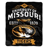 "Missouri Tigers ""Label"" Raschel Throw"