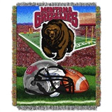 "Montana Grizzlies NCAA ""Home Field Advantage"" Woven Tapestry Throw"