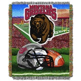 "Montana ""Home Field Advantage"" Woven Tapestry Throw"