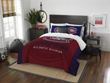 "Montreal Canadiens NHL ""Draft"" Full/Queen Comforter Set"