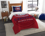 "Montreal Canadiens NHL ""Draft"" Twin Comforter Set"