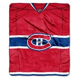 "Montreal Canadiens NHL ""Jersey"" Raschel Throw"