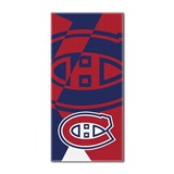 "Montreal Canadiens NHL ""Puzzle"" Beach Towel"