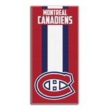 "Montreal Canadiens NHL ""Zone Read"" Beach Towel"