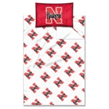 "Nebraska ""Anthem"" Twin Sheet Set"